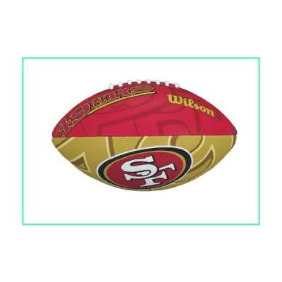 Wilson NFL Junior Team Logo Football (San Francisco 49ers)並行輸入品