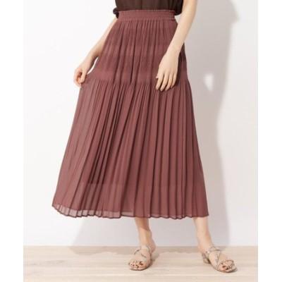 【LLあり】マジョリカプリーツスカート