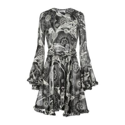 クロエ CHLOÉ ミニワンピース&ドレス ブラック 34 コットン 65% / シルク 35% ミニワンピース&ドレス