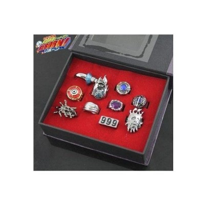 E-busienss Katekyo Hitman Reborn Finger Ring 10pcs/set Cosplay New in Box フィギュア おもちゃ 人形