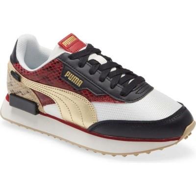プーマ PUMA レディース スニーカー シューズ・靴 Future Rider Disco Wild Sneaker Puma Black/Gold