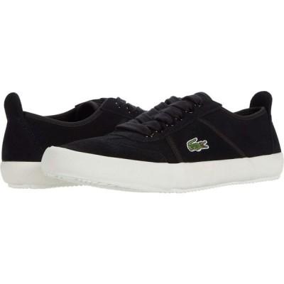 ラコステ Lacoste メンズ シューズ・靴 Contest 0120 1 Black/Off-White