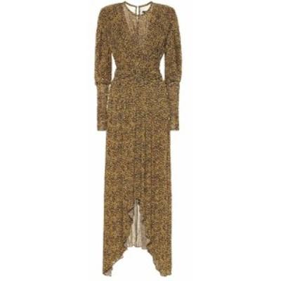イザベル マラン Isabel Marant レディース ワンピース ワンピース・ドレス Jucienne printed crepe-jersey dress Fauve