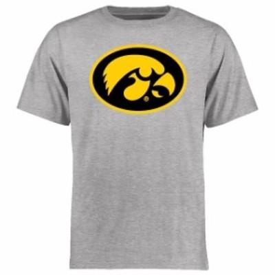 Fanatics Branded ファナティクス ブランド スポーツ用品  Iowa Hawkeyes Ash Big & Tall Classic Primary T-Shirt