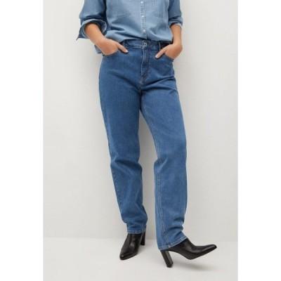 ビオレタ バイ マンゴ デニムパンツ レディース ボトムス ELY - Relaxed fit jeans - mittelblau