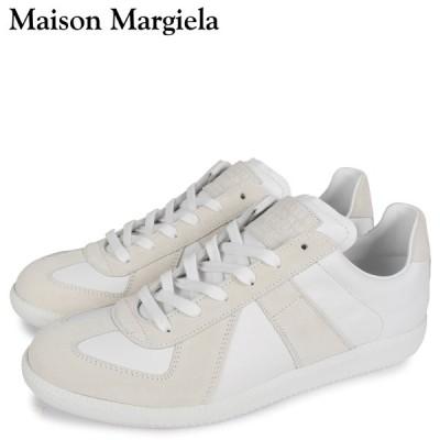 MAISON MARGIELA メゾンマルジェラ レプリカ スニーカー メンズ REPLICA LOW TOP ホワイト 白 S57WS0236