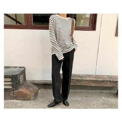 From Beginning レディース ニット/セーター Saint Stripe Knit