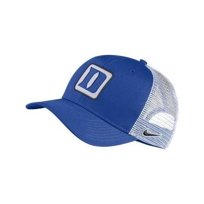 ナイキ 帽子 アクセサリー メンズ Duke Blue Devils Patch Trucker Cap RoyalBlue/White