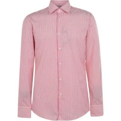 ヒューゴ ボス Boss メンズ シャツ トップス Jango Stripe Shirt Red