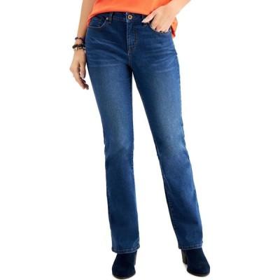 スタイル&コー Style & Co レディース ジーンズ・デニム ブーツカット ボトムス・パンツ Mid-Rise Curvy Bootcut Jeans Farewell