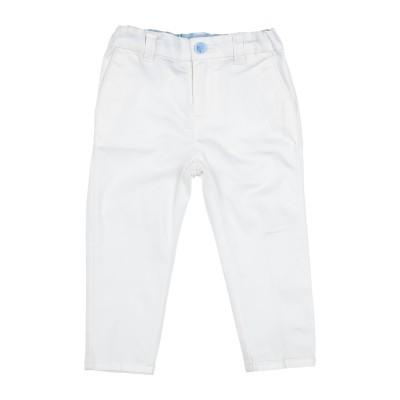 ARMANI JUNIOR パンツ ホワイト 6 コットン 97% / ポリウレタン 3% パンツ