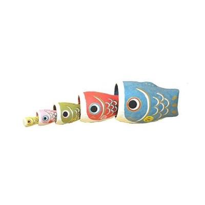 鯉のぼり 置物 はりこーシカ 張子 こいのぼり コンパクト マトリョーシカ