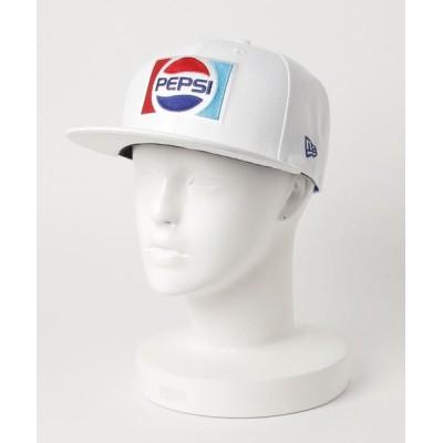 帽子屋ONSPOTZ / ニューエラ ペプシ コラボ キャップ 59FIFTY 1987 ロゴ NEW ERA PEPSI MEN 帽子 > キャップ