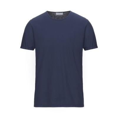 グラン サッソ GRAN SASSO T シャツ ダークブルー 50 コットン 100% T シャツ