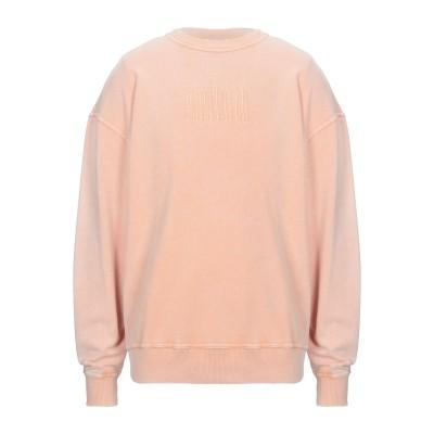 デイリーペーパー DAILY PAPER スウェットシャツ あんず色 S コットン 100% スウェットシャツ