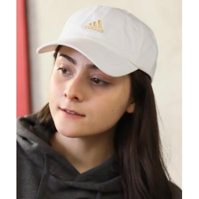CORPUS TOKYO / 【adidas/アディダス】ワンポイントロゴ刺繍コットンベースボールキャップ WOMEN 帽子 > キャップ