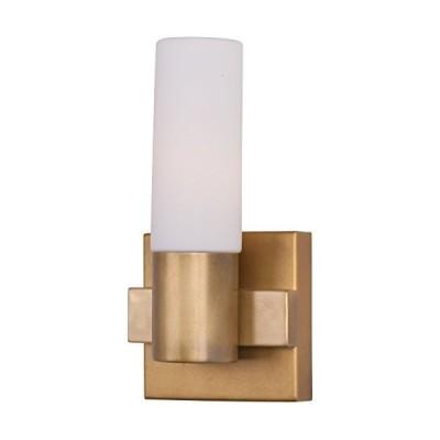 [新品]Maxim Lighting 22411SWNAB One Light Bathroom Sconce, Natural Aged Brass by Maxim Lighting
