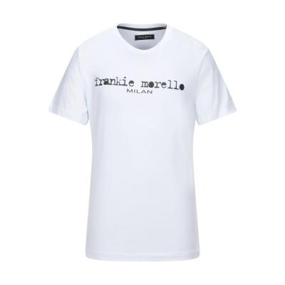 フランキー モレロ FRANKIE MORELLO T シャツ ホワイト XXL コットン 100% T シャツ