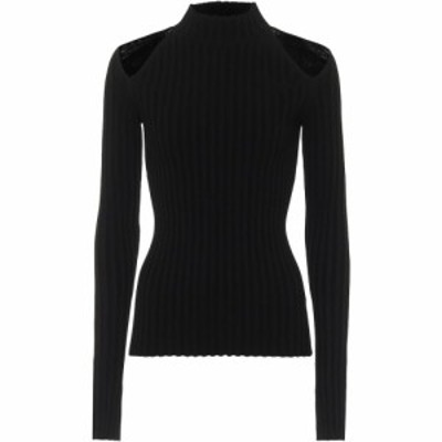 ヘルムート ラング Helmut Lang レディース ニット・セーター トップス ribbed turtleneck sweater Black