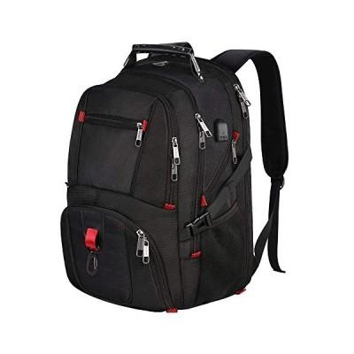 Vinteen Double Shoulder Package Male Business Travel Bag High Capacity Backpack Female School Bag 17 Inches Waterproof Shockproof Laptop Bag Satchel C