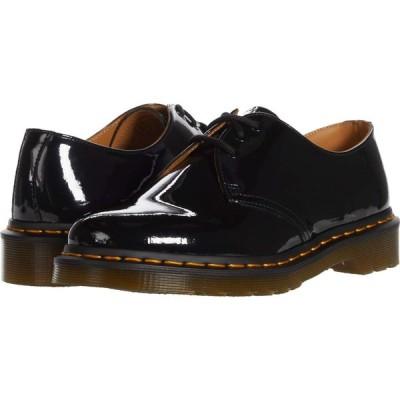 ドクターマーチン Dr. Martens レディース ローファー・オックスフォード シューズ・靴 1461 Patent Black Patent Lamper