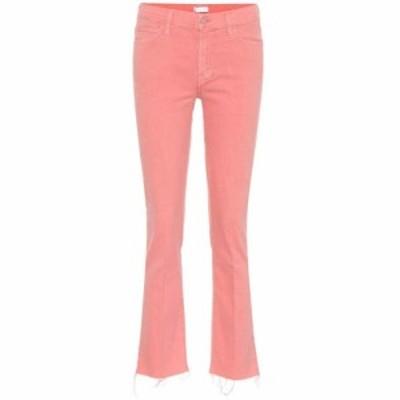 マザー Mother レディース ジーンズ・デニム ボトムス・パンツ The Rascal Ankle Snippet jeans Dusty Pink