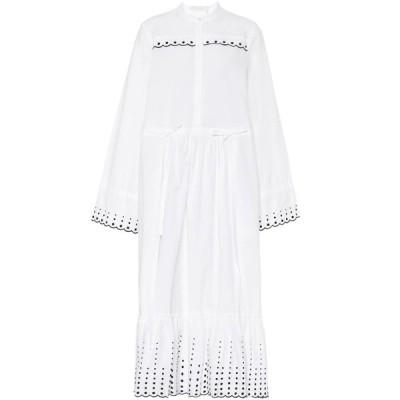 クロエ See By Chloe レディース ワンピース ワンピース・ドレス Cotton-twill dress White