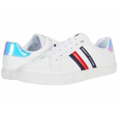トミー ヒルフィガー レディース スニーカー シューズ Lawsons White/Navy/Red/Blue Multi
