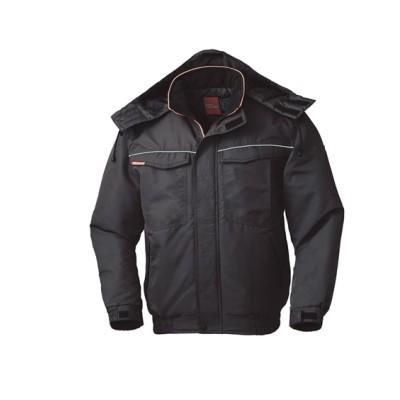KURODARUMA 54230 着脱式フード。反射パイピング防寒ジャンパー 作業服