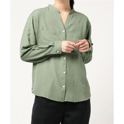 シャツ ブラウス TR 2WAYシャツ