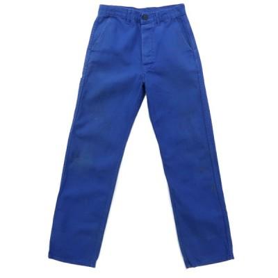 ユーロ ワークパンツ ブルー サイズ表記:W72-76