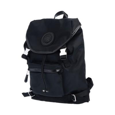 VERSUS VERSACE バックパック&ヒップバッグ ブラック ナイロン 100% / ポリエステル バックパック&ヒップバッグ