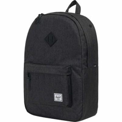 ハーシェル サプライ Herschel Supply Co ユニセックス バックパック・リュック バッグ Heritage Backpack Black Crosshatch/Black