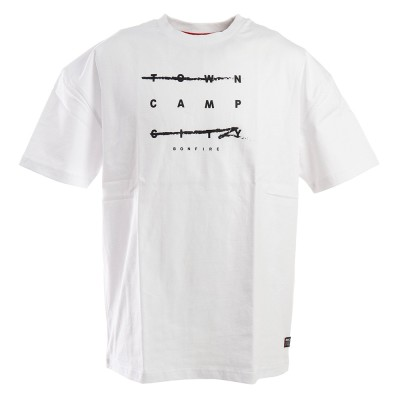 ボンファイアTシャツ CAMP HC 半袖 50BNF0SCD2090 WHTホワイトM