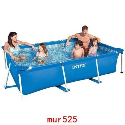プールレクタングラフレームプール暑さ対策ビニールプール膨脹可能家庭バルコニージャンボプール耐久性家庭用プール子供用プール