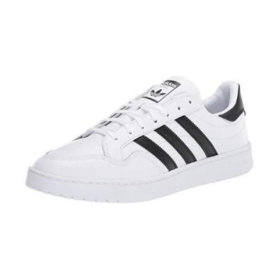 adidas Originals Men's Team Court Sneaker, FTWR White/core Black/Grey one, 7.5 M US