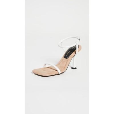 プロエンザ スクーラー Proenza Schouler レディース サンダル・ミュール スクエアトゥ シューズ・靴 Square Toe Strap Sandals Natural