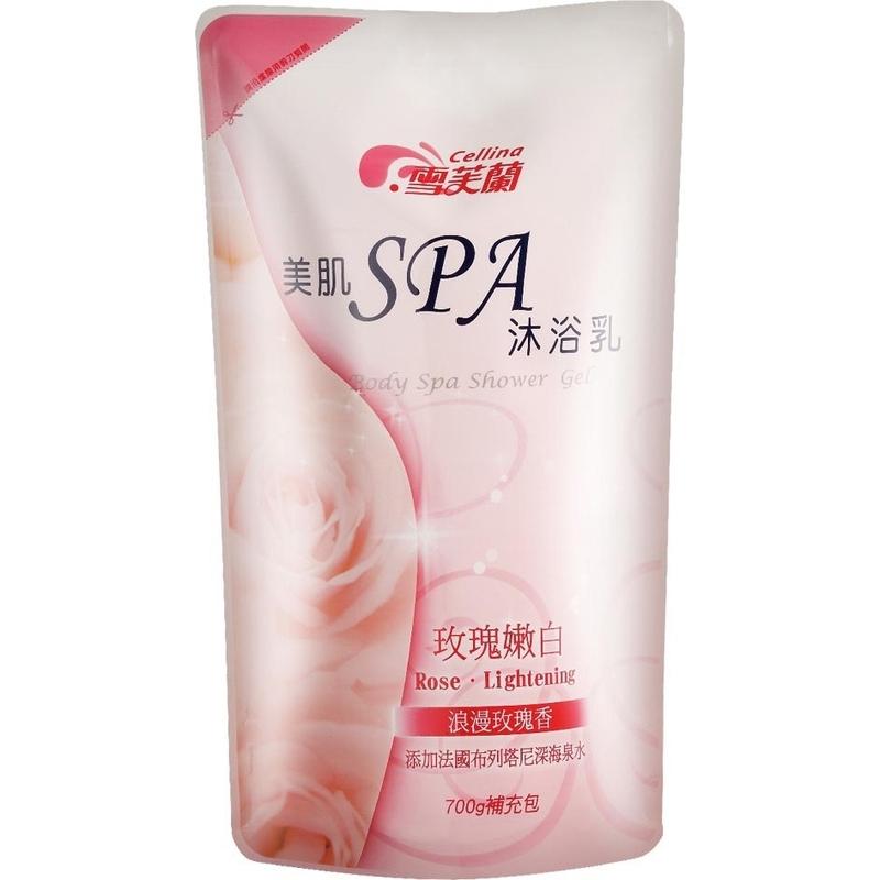 雪芙蘭美肌SPA玫瑰嫩白補充包