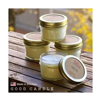 グッドキャンドル 1/4ポンド ゼリージャー キャンドル Good Candle 1/4LB Jelly jar candle あすつく対応