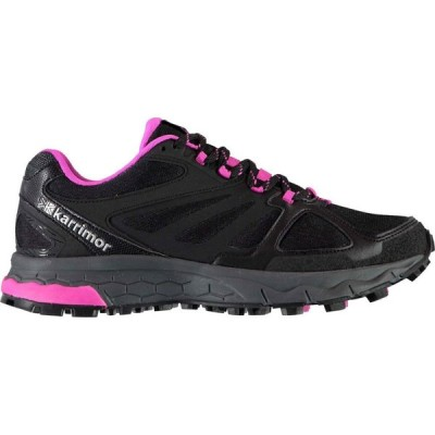 カリマー KARRIMOR レディース ランニング・ウォーキング シューズ・靴 Tempo 5 Trail Running Shoes BLACK/PINK