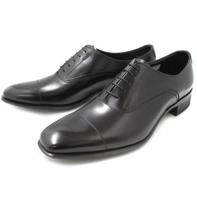 リーガル 靴 メンズ ビジネスシューズ ストレートチップ 本革 内羽根 REGAL 725R 〔ブラック〕