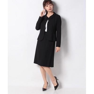 <Leilian(Women)/レリアン> セットスーツ クロ【三越伊勢丹/公式】