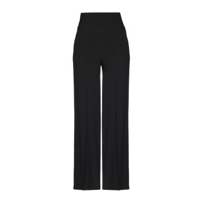 アトス ロンバルディーニ ATOS LOMBARDINI パンツ ブラック 42 アセテート 83% / レーヨン 17% パンツ