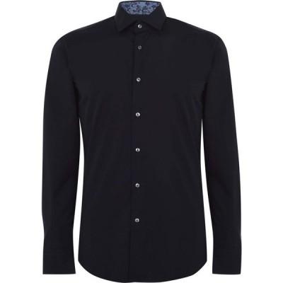 ヒューゴ ボス Boss メンズ シャツ トップス Joras Trim Shirt Navy