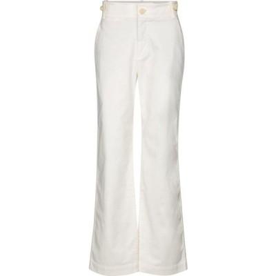 ヴィンス Vince レディース ジーンズ・デニム ボトムス・パンツ High-rise straight jeans Creme