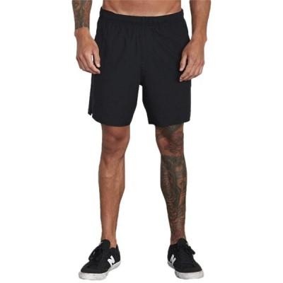ルーカ メンズ ハーフパンツ・ショーツ ボトムス RVCA Sport Yogger IV Shorts