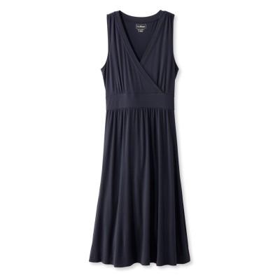 サマー・ニット・ドレス、袖なし