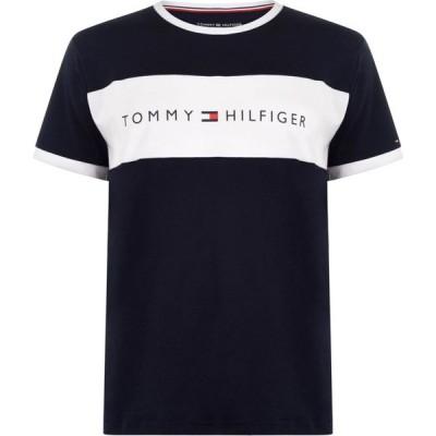 トミー ヒルフィガー Tommy Bodywear メンズ Tシャツ トップス Neck Short Sleeve Tee Navy Blazer
