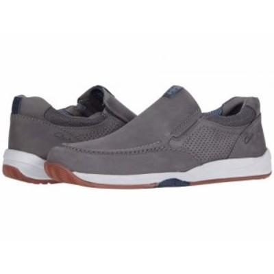 Clarks クラークス メンズ 男性用 シューズ 靴 スニーカー 運動靴 Langton Step Grey Nubuck【送料無料】