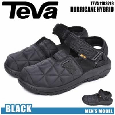 テバ サンダル ブラック ハリケーン ハイブリッド TEVA 1103218 メンズ テヴァ コンフォート スポーツサンダル 軽量 スポサン 個性 おし